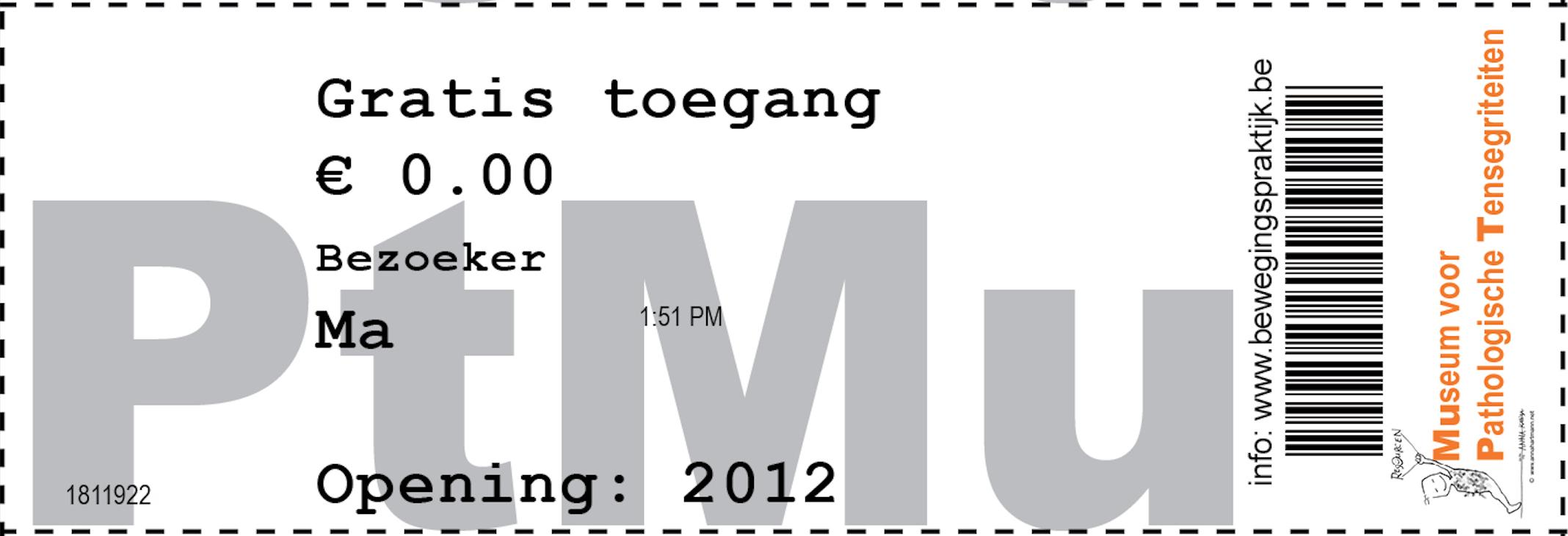 ticket MuPt